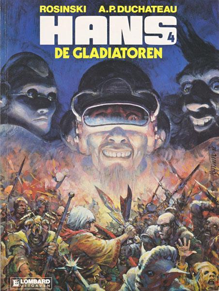 Hans (Rosinski/Kas) 4 De gladiatoren