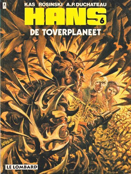 Hans (Rosinski/Kas) 6 De toverplaneet