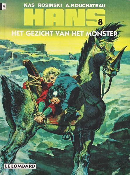 Hans (Rosinski/Kas) 8 Het gezicht van het monster
