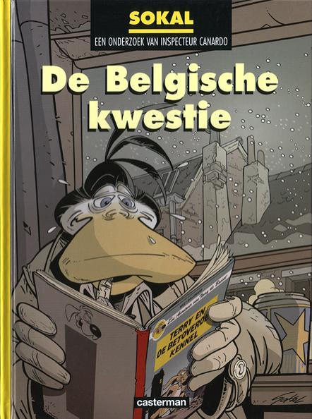 Inspecteur Canardo 15 De Belgische kwestie