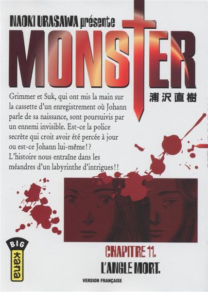 Monster (Urasawa) 11 L'angle mort