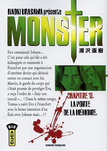 Monster (Urasawa) 15 La porte de la mémoire