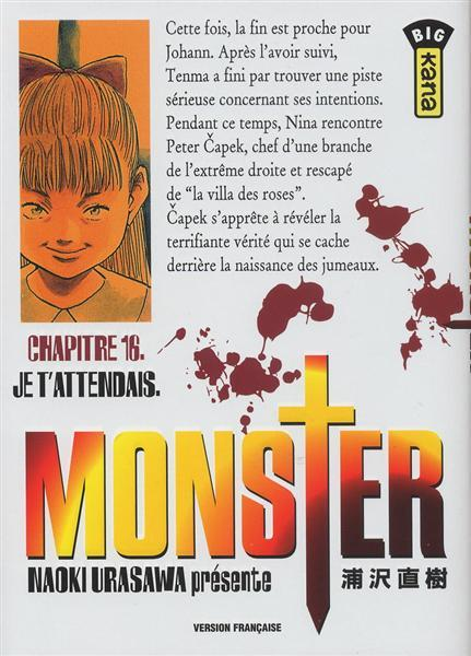 Monster (Urasawa) 16 Je t'attendais