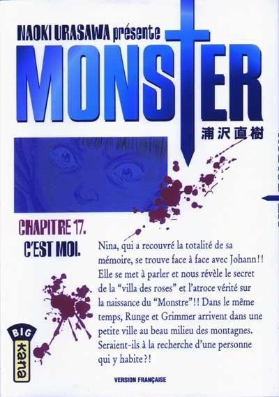 Monster (Urasawa) 17 C'est moi