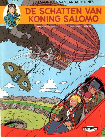 January Jones 3 De schatten van Koning Salomo