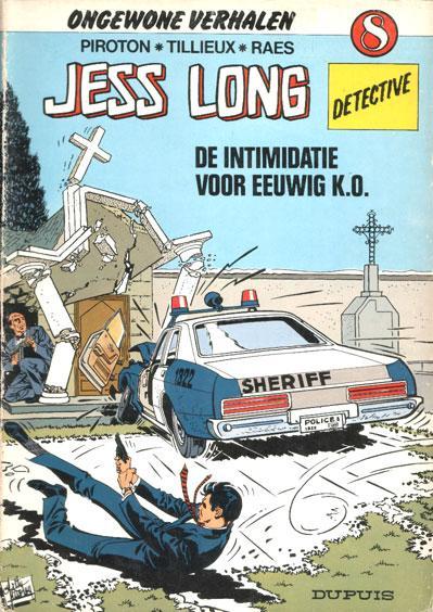 Jess Long 8 De intimidatie - Voor eeuwig K.O.