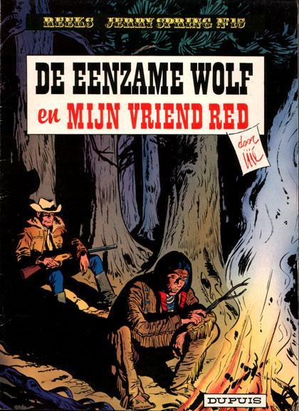 Jerry Spring 15 De eenzame wolf en mijn vriend Red