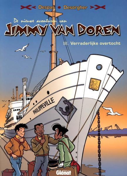 De nieuwe avonturen van Jimmy Van Doren 3 Verraderlijke overtocht