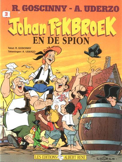 Johan Pikbroek 3 Johan Pikbroek en de spion
