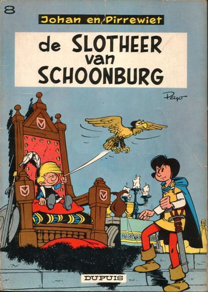 Johan en Pirrewiet 8 De slotheer van Schoonburg