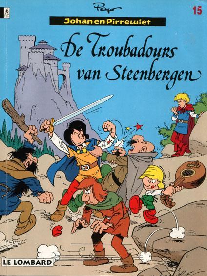 Johan en Pirrewiet 15 De troubadours van Steenbergen