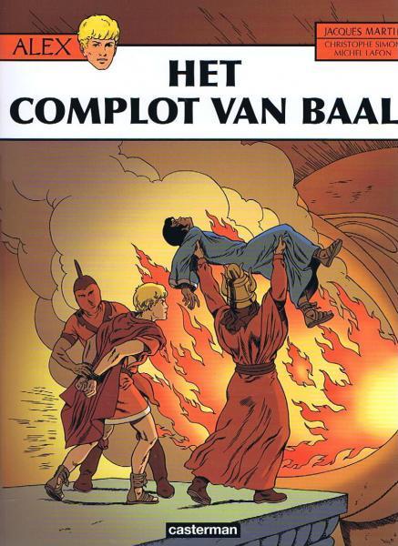 Alex 30 Het complot van Baal