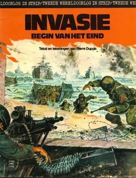 Tweede wereldoorlog in strip 5 Invasie. Begin van het eind