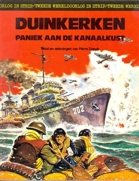 Tweede wereldoorlog in strip 2 Duinkerken. Paniek aan de kanaalkust
