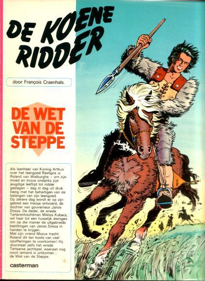 De Koene Ridder 3 De wet van de steppe