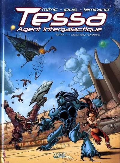 Tessa, Intergalactische agente 4 Cosmolympiades