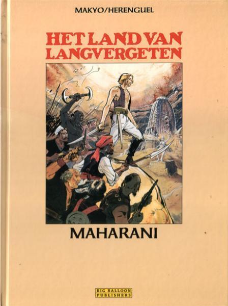 Het land van langvergeten 8 Maharani