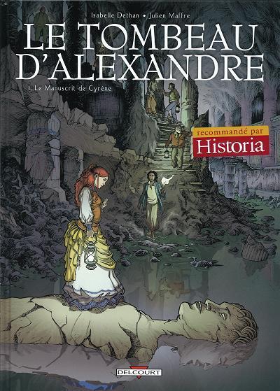 De tombe van Alexander 1 Le manuscrit de Cyrène