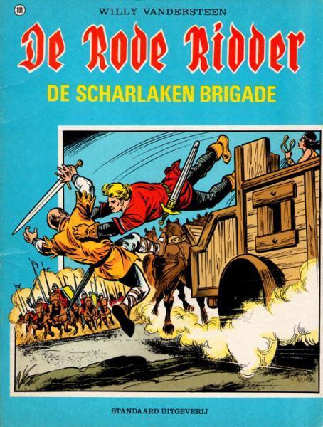 De Rode Ridder 101 De scharlaken brigade