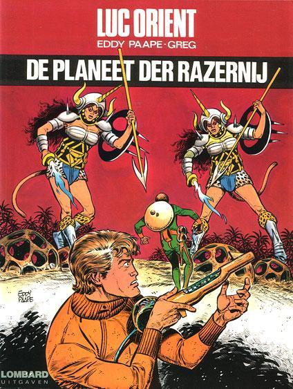 Luc Orient 14 De planeet der razernij