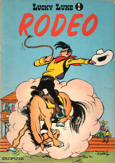 Lucky Luke (Dupuis) 2 Rodeo