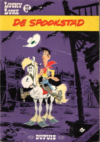 Lucky Luke (Dupuis) 25 De spookstad