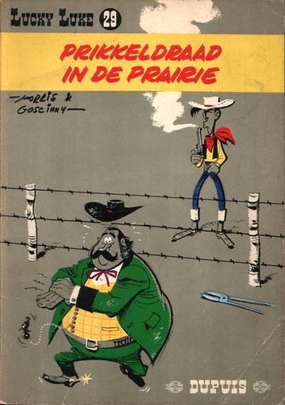 Lucky Luke (Dupuis) 29 Prikkeldraad in de prairie
