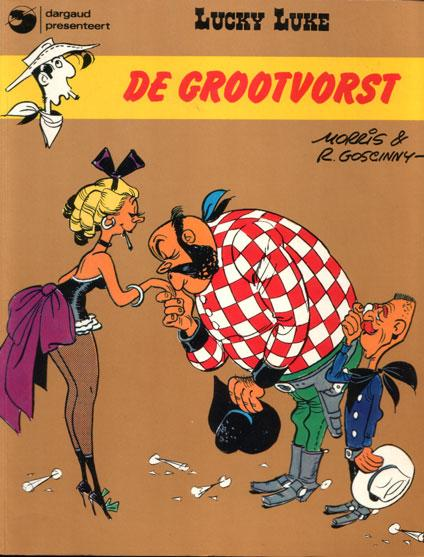 Lucky Luke (Dargaud/Lucky Comics) 10 De grootvorst