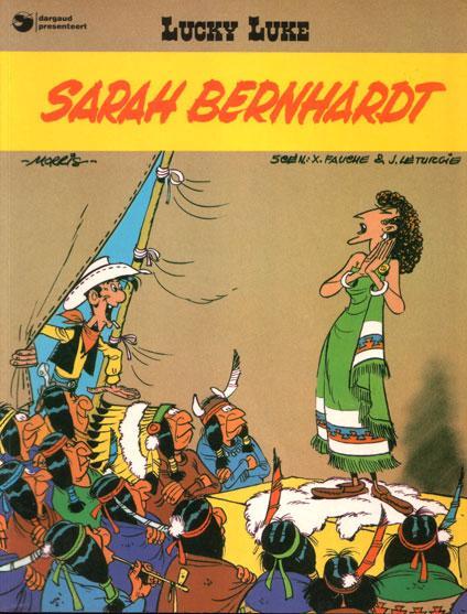Lucky Luke (Dargaud/Lucky Comics) 21 Sarah Bernhardt