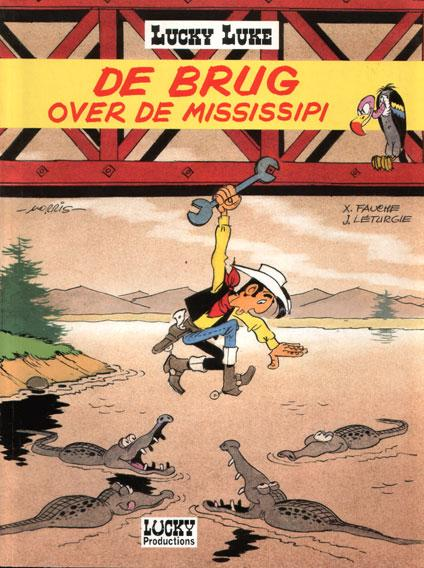 Lucky Luke (Dargaud/Lucky Comics) 33 De brug over de Mississipi
