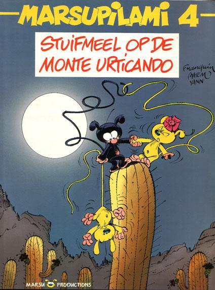 Marsupilami 4 Stuifmeel op de Monte Urticando