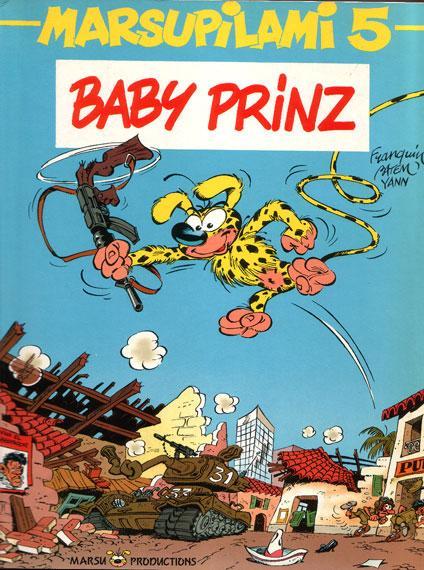 Marsupilami 5 Baby Prinz