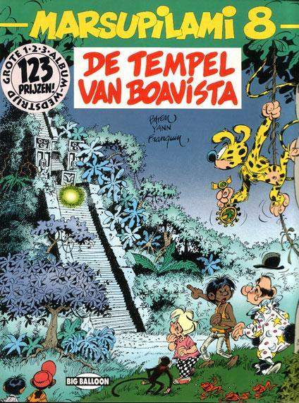 Marsupilami 8 De tempel van Boavista