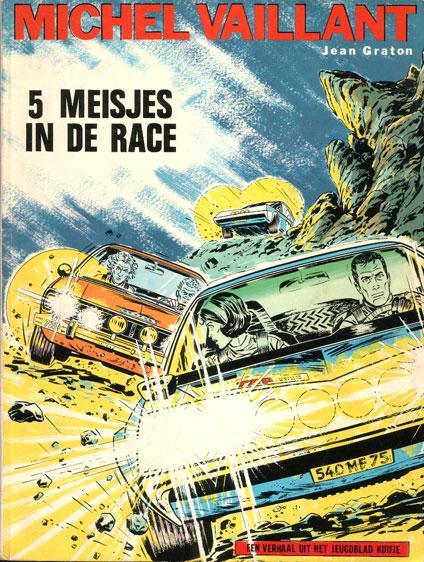 Michel Vaillant 19 5 meisjes in de race