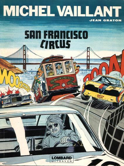 Michel Vaillant 29 San Francisco circus