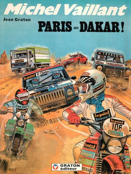 Michel Vaillant 41 Paris-Dakar!
