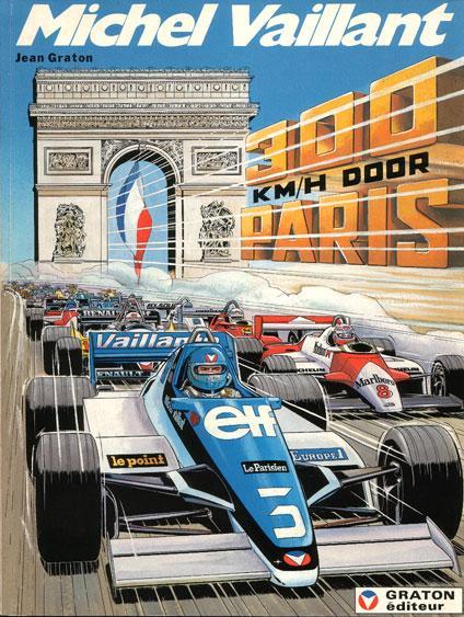 Michel Vaillant 42 300 km/h door Parijs