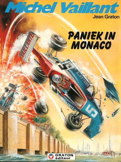 Michel Vaillant 47 Paniek in Monaco