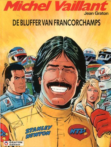 Michel Vaillant 51 De bluffer van Francorchamps
