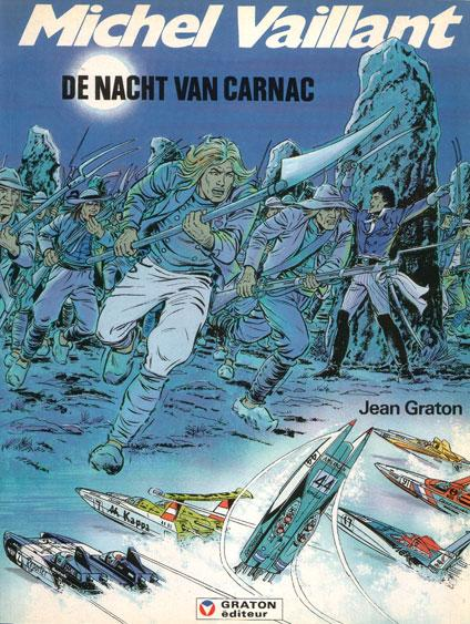 Michel Vaillant 53 De nacht van Carnac