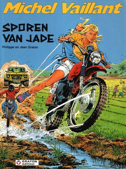 Michel Vaillant 57 Sporen van Jade