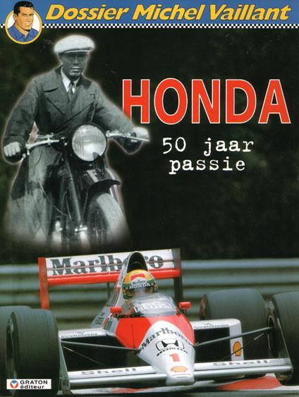 Dossier Michel Vaillant 4 Honda, 50 jaar passie