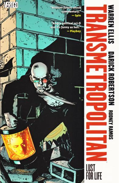 Transmetropolitan INT A2 Lust for Life