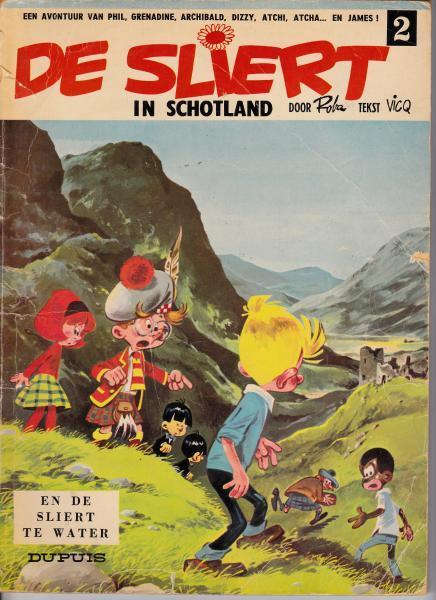 De Sliert 2 In Schotland en De Sliert te water
