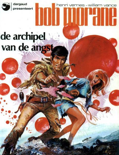 Bob Morane (Dargaud) 8 De archipel van de angst