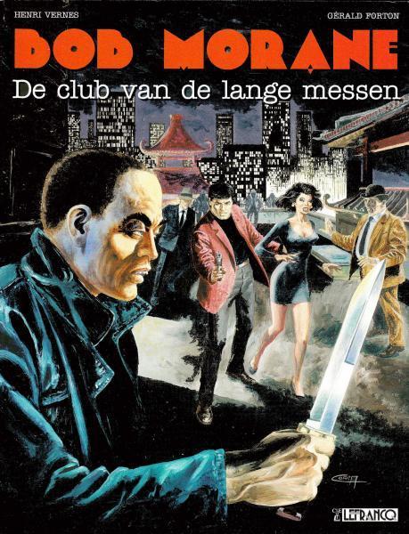 Bob Morane (Claude Lefrancq) 14 De club van de lange messen