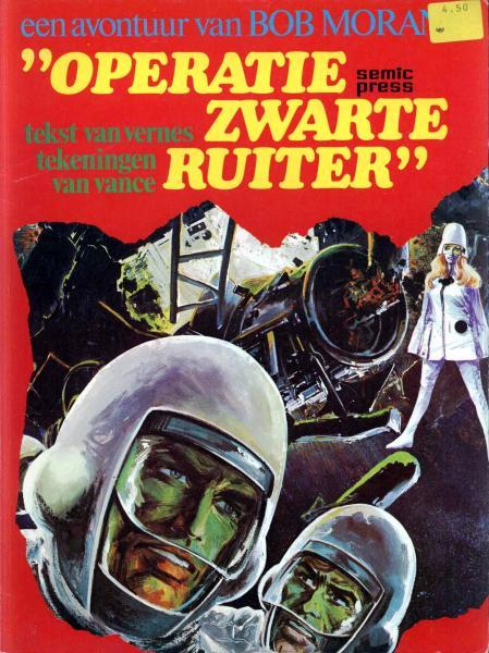 "Bob Morane (Semic) 1 ""Operatie Zwarte Ruiter"""