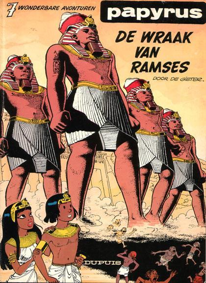 Papyrus 7 De wraak van Ramses
