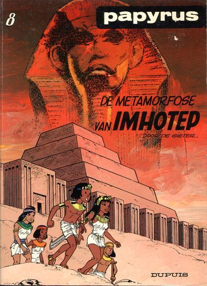 Papyrus 8 De metamorfose van Imhotep