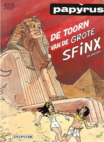 Papyrus 20 De toorn van de grote Sfinx